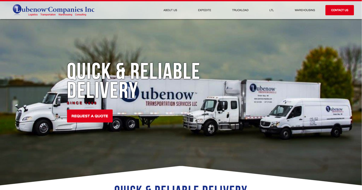 Lubenow Companies: Leader in transportation & warehousing