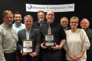 Team Members receive Platinum Awards