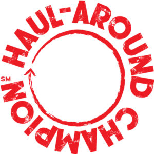 Red Circular Haul-Around Champion Logo
