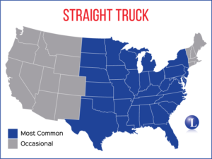 Straight Truck Map Coverage