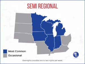 Semi Regional Map Coverage