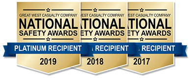 National Safety Award Banners